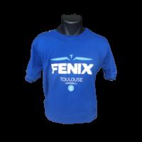 T-Shirt bleu FENIX